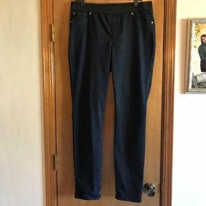 INC Jeans with Black Elastic Waistband